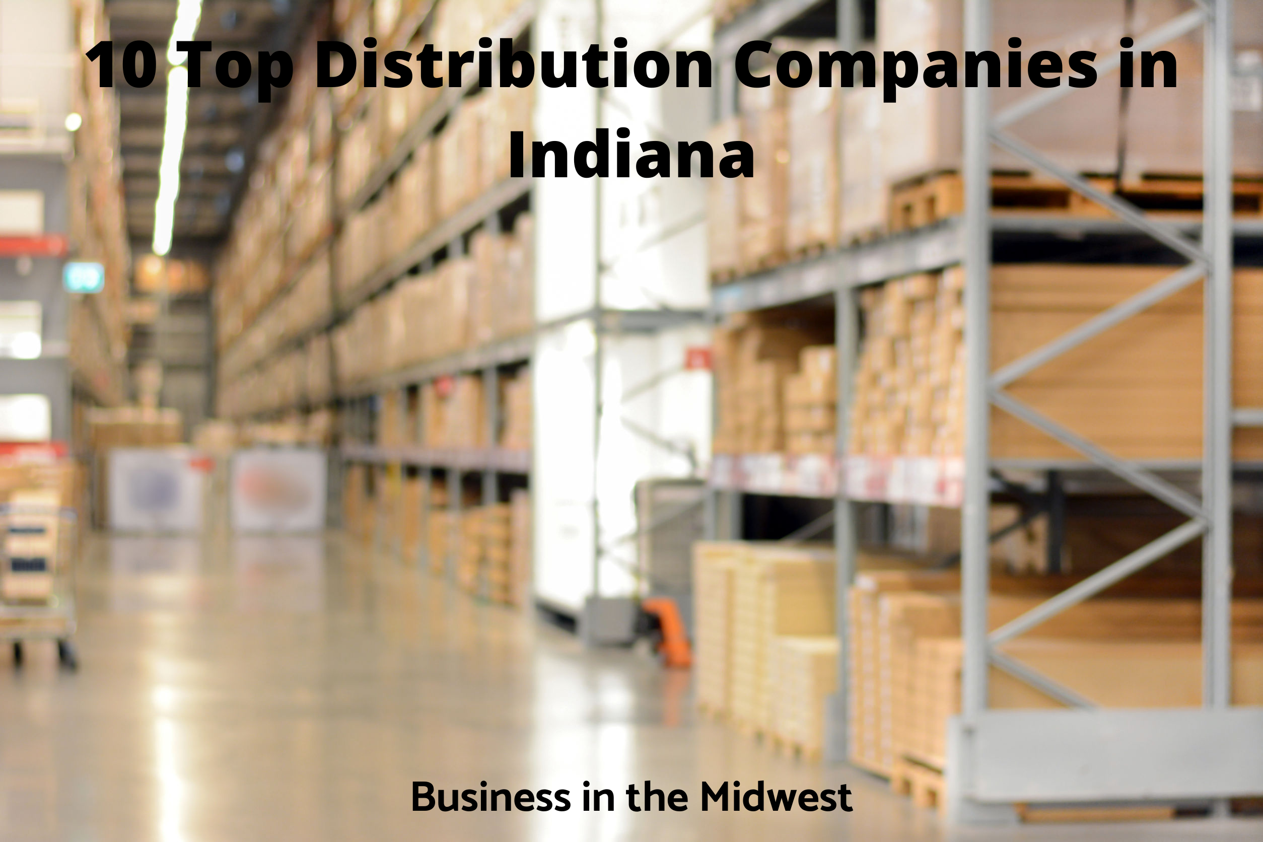 What is the main industry in Indiana?