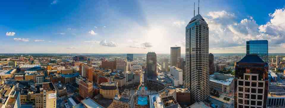 What is the most dangerous part of Indianapolis?