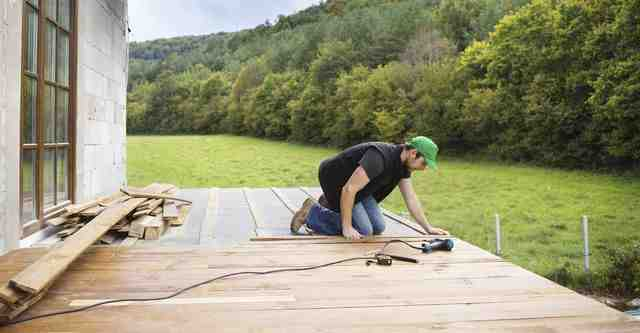 What is the average cost for a backyard deck?